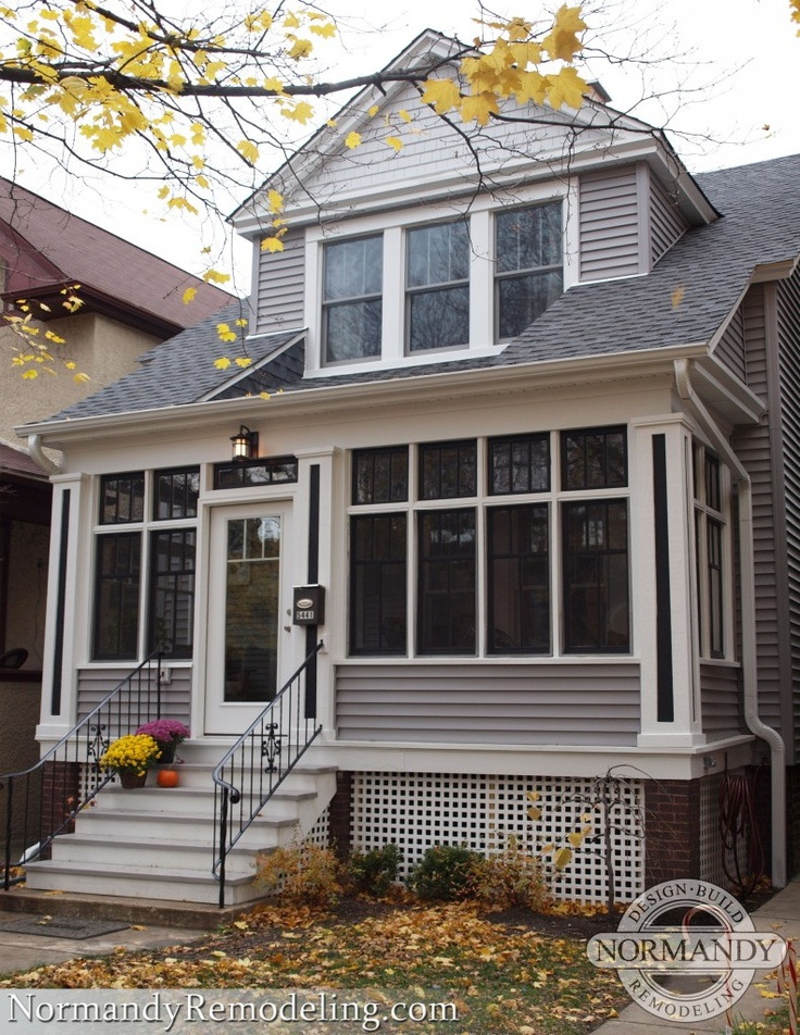 38 Best Images About Exteriors And Home Additions On Pinterest Chicago Home Design And Online