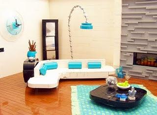 Retro Lego interior: Lovin' it:)