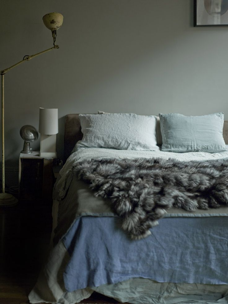 Bedroom in the Manhattan apartment of Martyn Thompson  PHOTO Robyn Lea for issue #5