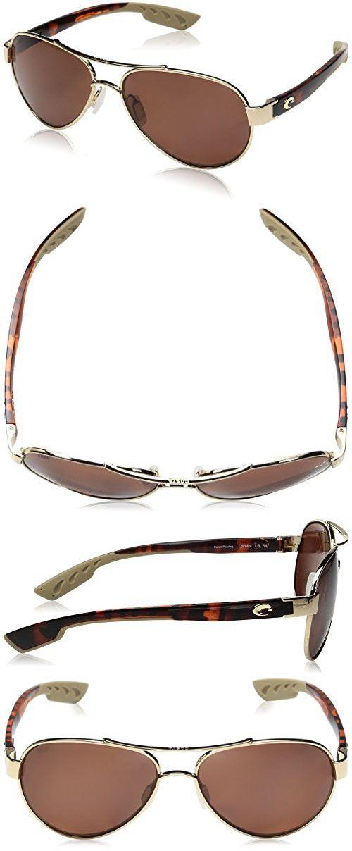 3ccd19d0274 Costa del Mar Women s South Point Polarized Aviator Sunglasses