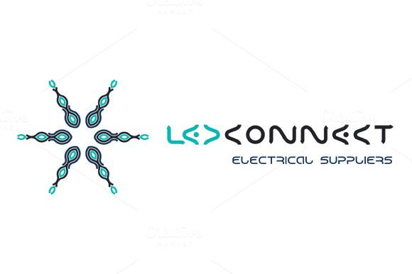 Led Connect Electrical Suppliers by LuisFaus on Creative Market
