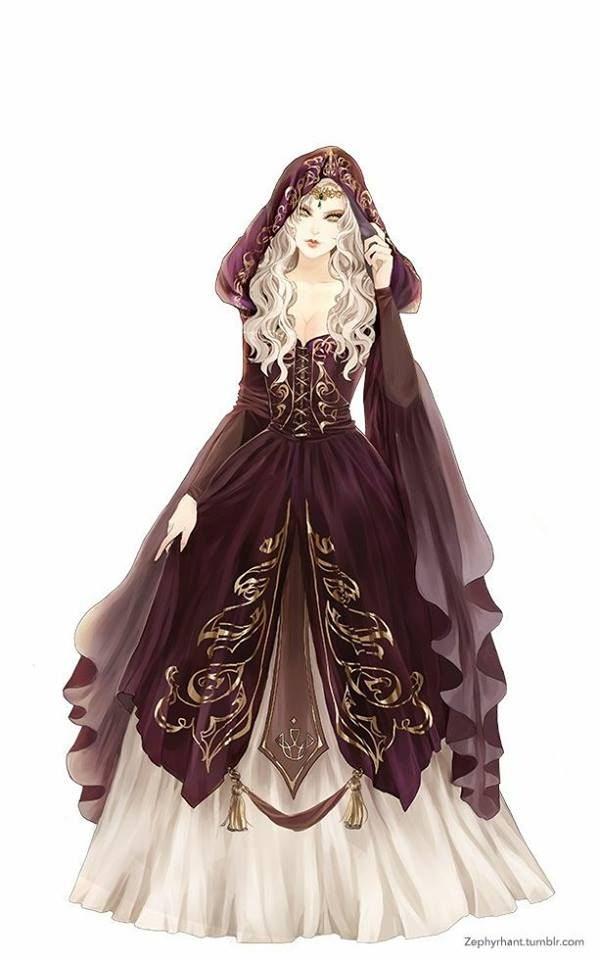 Would make such a lovely costume. The artist did a great job.