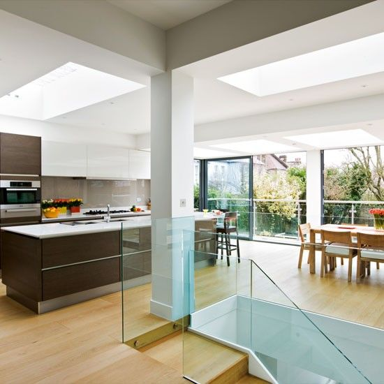 Sliding door kitchen extension | Kitchen extensions | housetohome.co.uk | Mobile