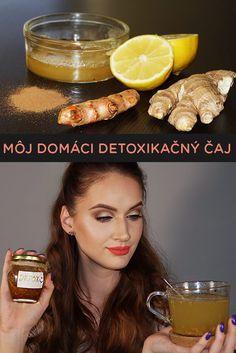 Chceš naštartovať metabolizmus? Vyskúšaj môj domáci detoxikačný čaj! via @akademiakrasy