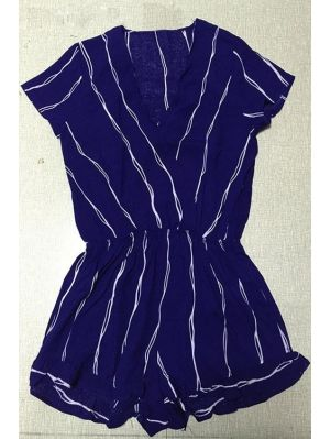 Jumpsuits & Rompers l  For Women Trendy Fashion Style l Striped Playsuit l www.CarolinaDesigns.com