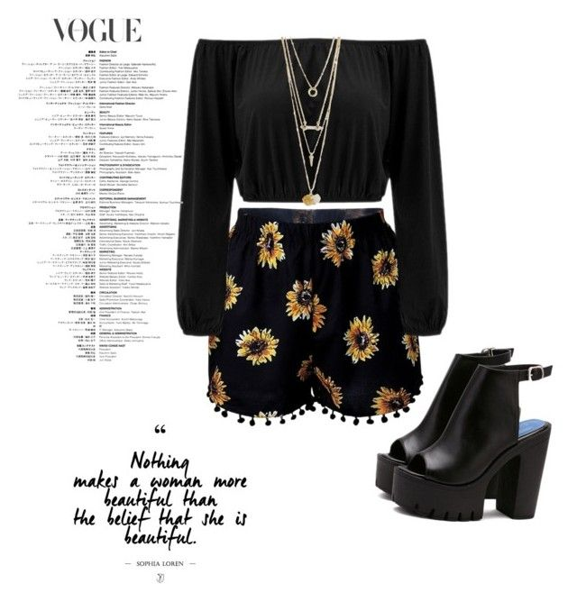 Casual daisies by chrysapan on Polyvore featuring polyvore fashion style clothing