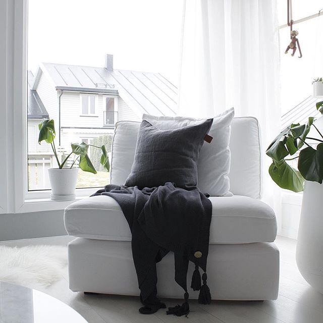 Village linen cushion. Definitely a new favorite 👌🏻 . @korninterior