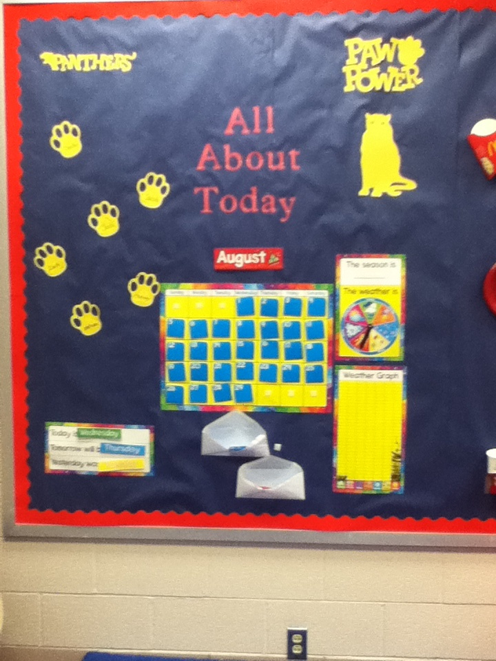Classroom Calendar Bulletin Board Ideas : Calendar bulletin board classroom ideas pinterest