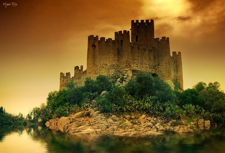 #Portugal, Castle of Almourol - was conquered in 1129, by Henry I, the first Portuguese King, and placed in the trust of Gualdim Pais, the Master of the Templar Knights in Portugal