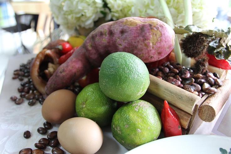 Frutos de nuestra culinaria.  Crédito Miltón Ramírez (@FOTOMILTON) Mincultura 2012.