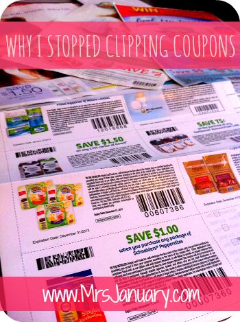 Why I'm no longer clipping coupons, and what I'm doing to save money instead - great story from an ex extreme couponer!