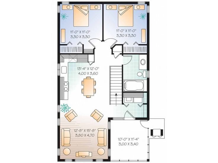 1000 images about inlaw apartment in walk out on for Walk up apartment floor plans