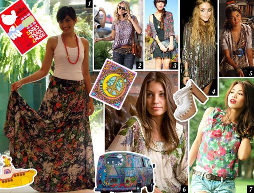 Roupas anos 70 feminina festa hippie pesquisa google anos 70 pinterest roupas anos 70 - Hippies anos 70 ...