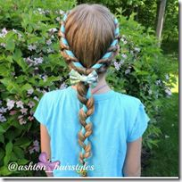 Rope Braid Hairstyle Inspiration - 30 Days of New Braids Favorites