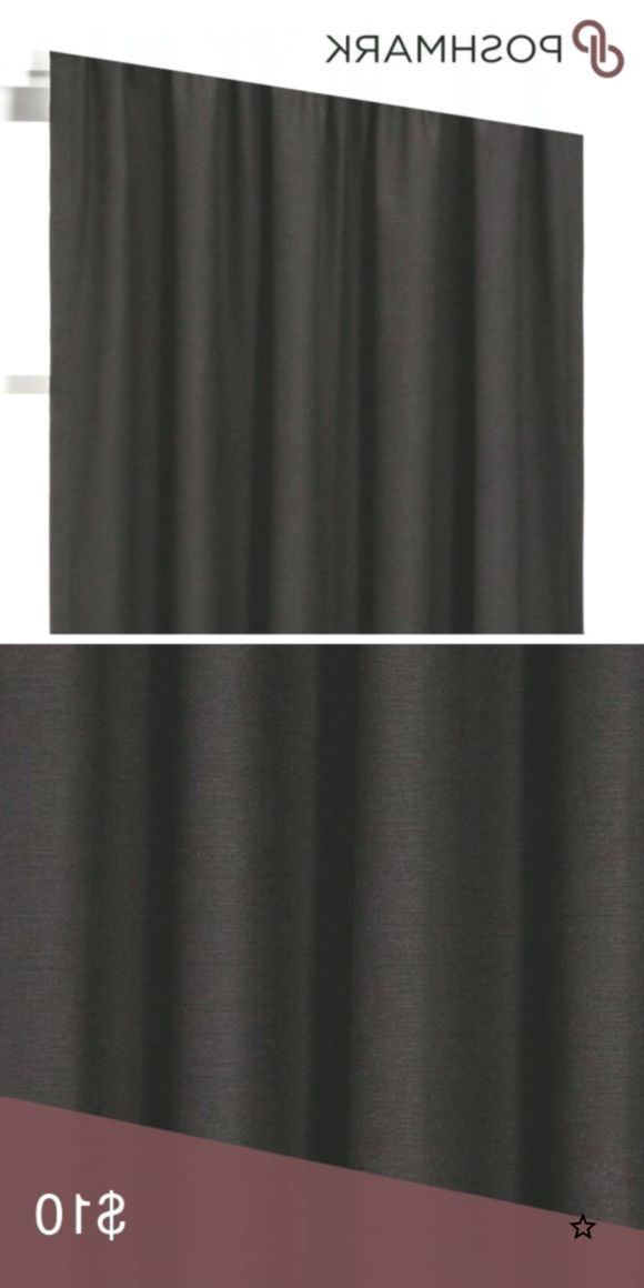 Blackout Curtain Single Panel Black Henna Project 62 Blackout
