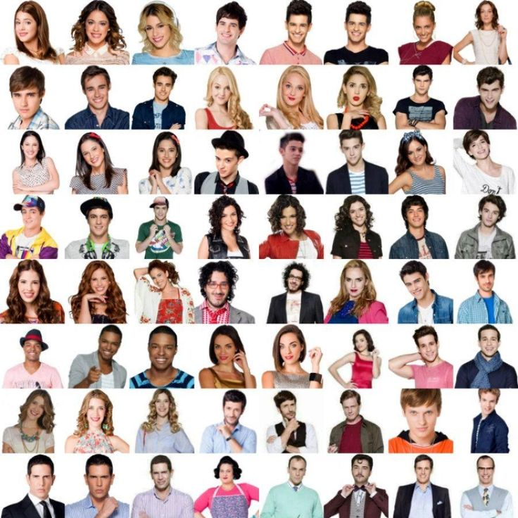 All characters from Violetta