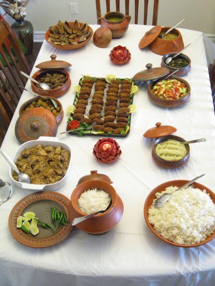 newyear bengali boishakh food idea decoration Food