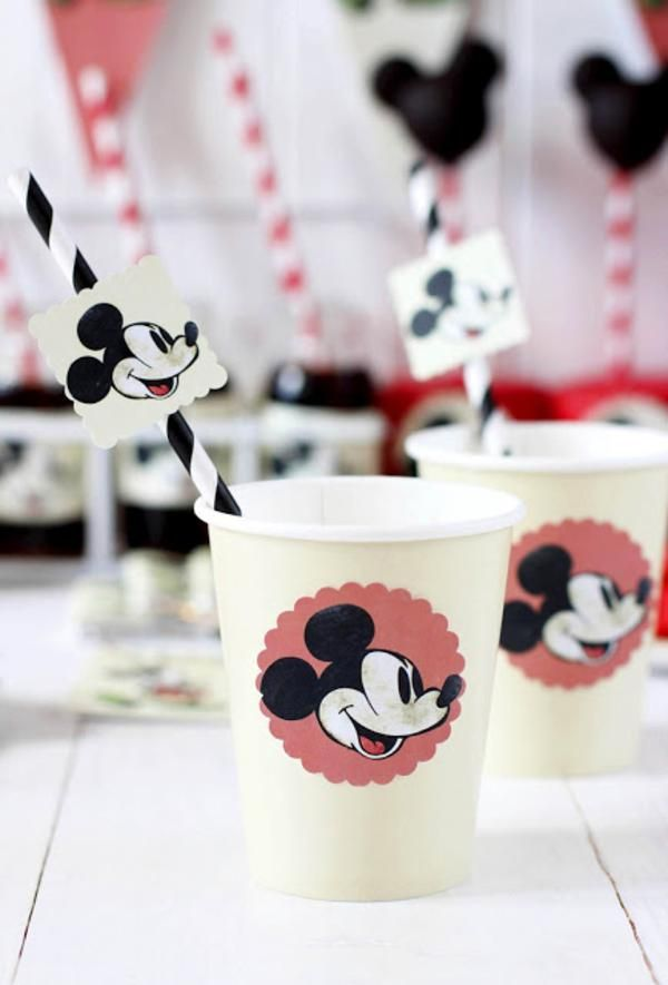Vintage Mickey Mouse Party