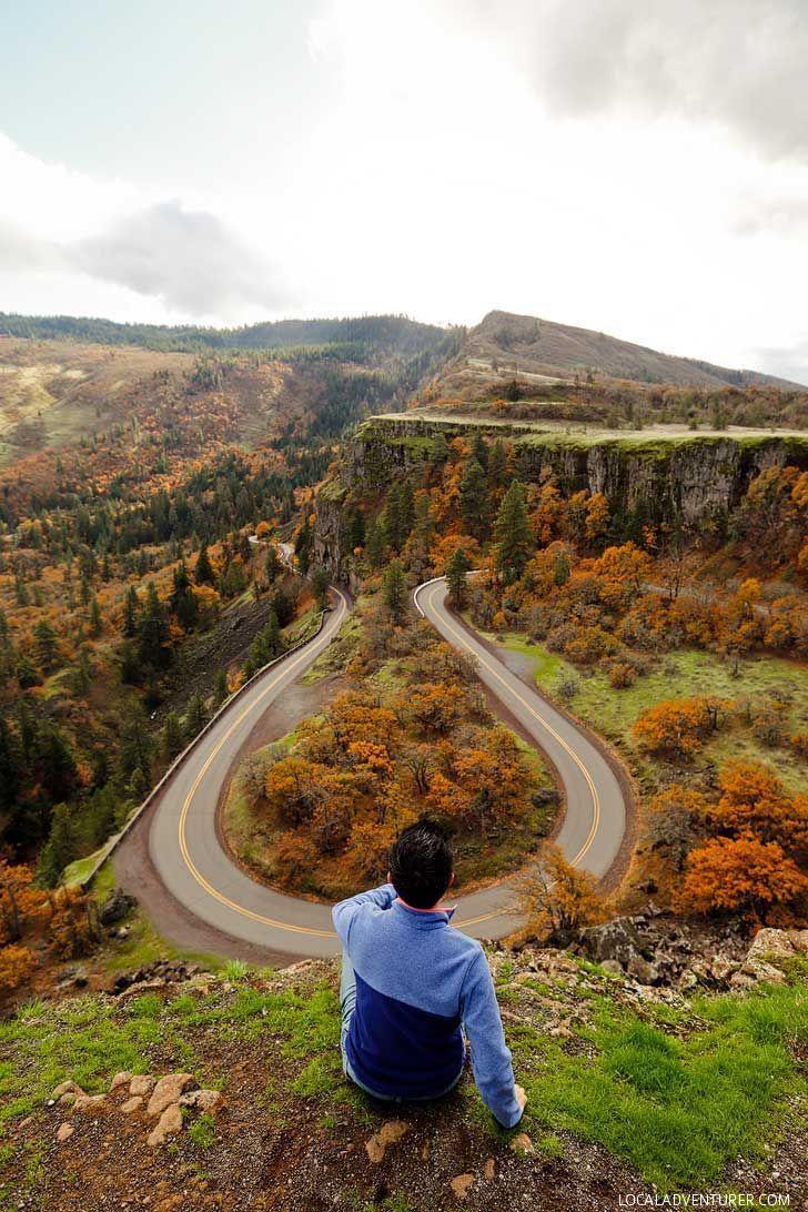 Rowena Crest, Tom Mccall Preserve, Columbia River Gorge, Oregon // Local Adventurer #oregon #traveloregon