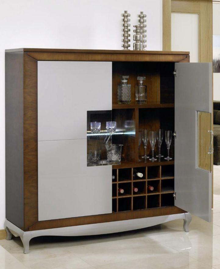 Mueble de bar moderno buscar con google malagon for Modelos de muebles para bar