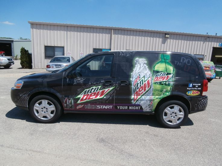 Pepsi Vehicle Wrap Done By Monarch Media Designs In