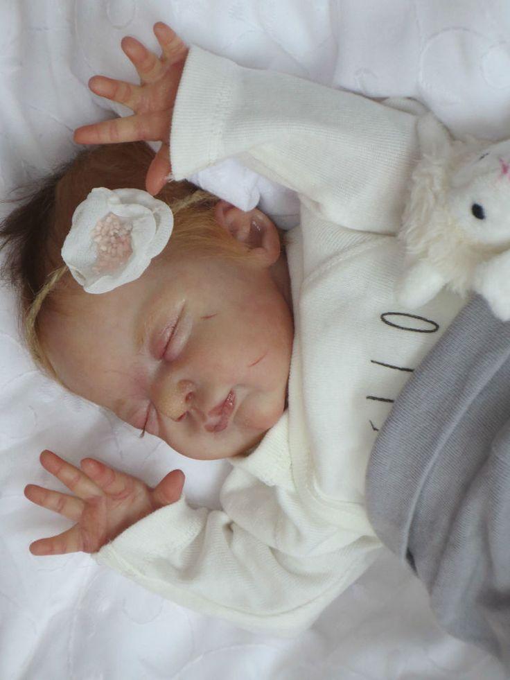 Reborn Baby Doll ROSIE by Laura Lee Eagles
