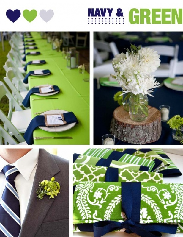 Perfect Wedding Palettes: NAVY | Adori Designs: NJ Custom Wedding Invitations and Announcements