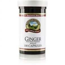 Natures Sunshine Ginger Capsules 100