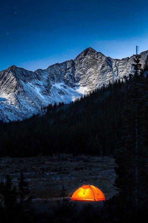 Camping below Blanca Peak in Colorado by Casey McCallister