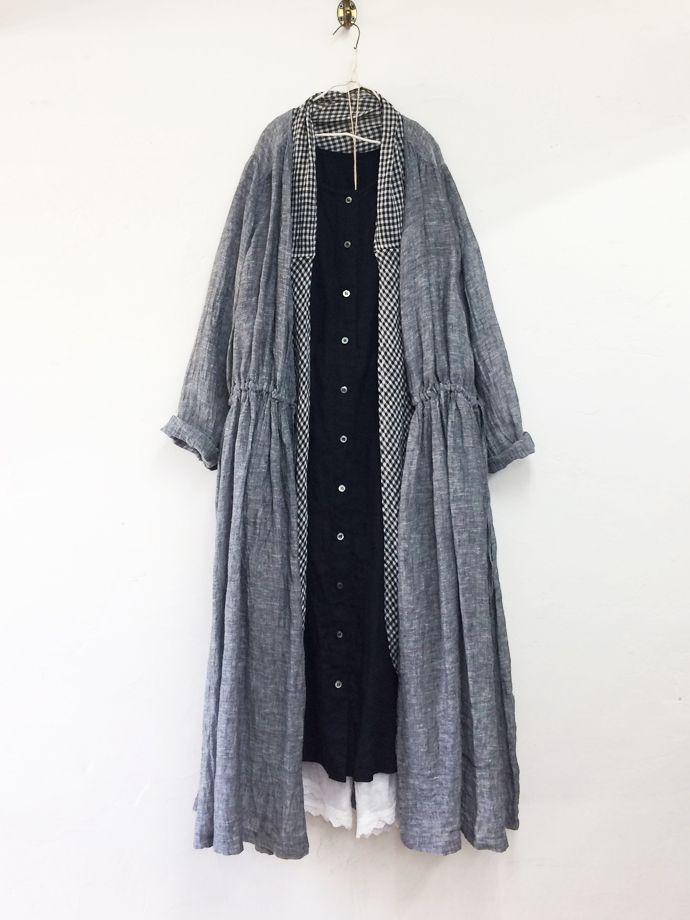リネン2wayフレアブラウス / off white | コーディネート|nest Robe ONLINE SHOP