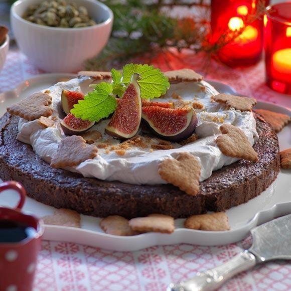Spara disk genom att baka kakan i kastrullen.
