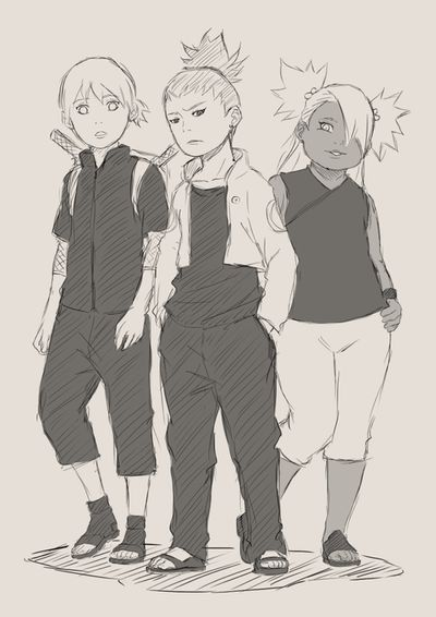Naruto | New generation of Ino-Shika-Cho