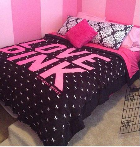 Victoria's secret Pink bedroom