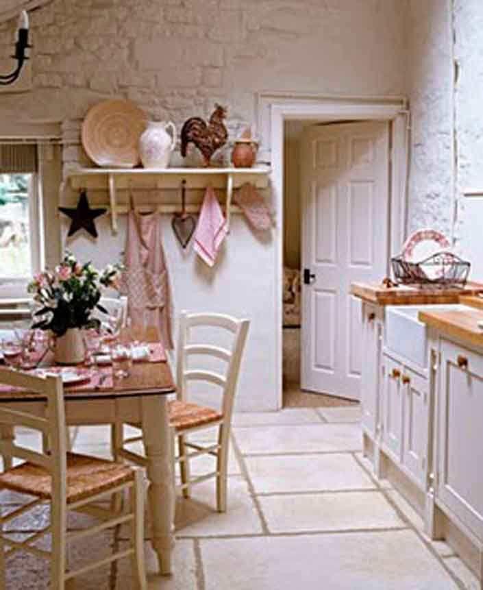 Shabby chic cocinas rustic industrial kitchen - Cocinas estilo shabby chic ...