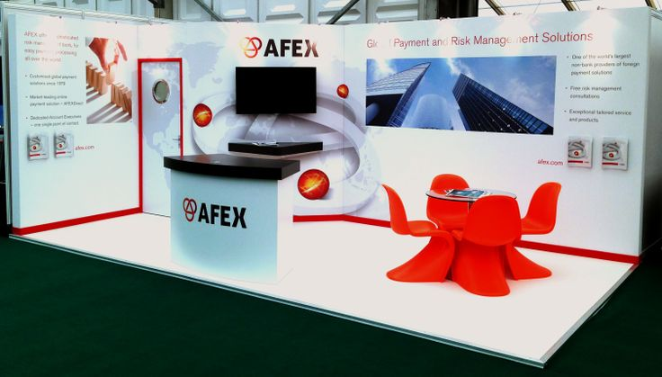 Custom build exhibition stand for AFEX, 2013  www.mustardsolutions.co.uk