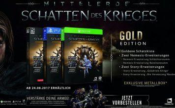 [Vorbestellen]  Mittelerde: Schatten des Krieges  Gold Edition  [PlayStation 4 Xbox One PC]