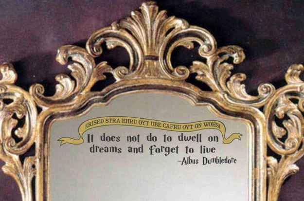 Mirror of Erised Quote