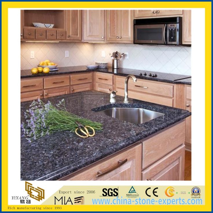 Granite Kitchen Countertops With Backsplash: 25+ Best Ideas About Blue Pearl Granite On Pinterest