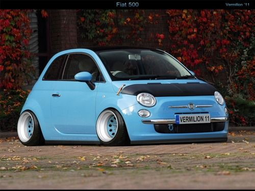 Cool Stuff We Like Here @ CoolPile.com ------- << Original Comment >> ------- slammed fiat 500