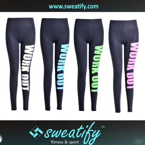 Sweatify Fashion Women Workout  Leggings Printed Plus size