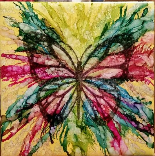 17 Best Images About Alcohol Ink On Pinterest Abstract