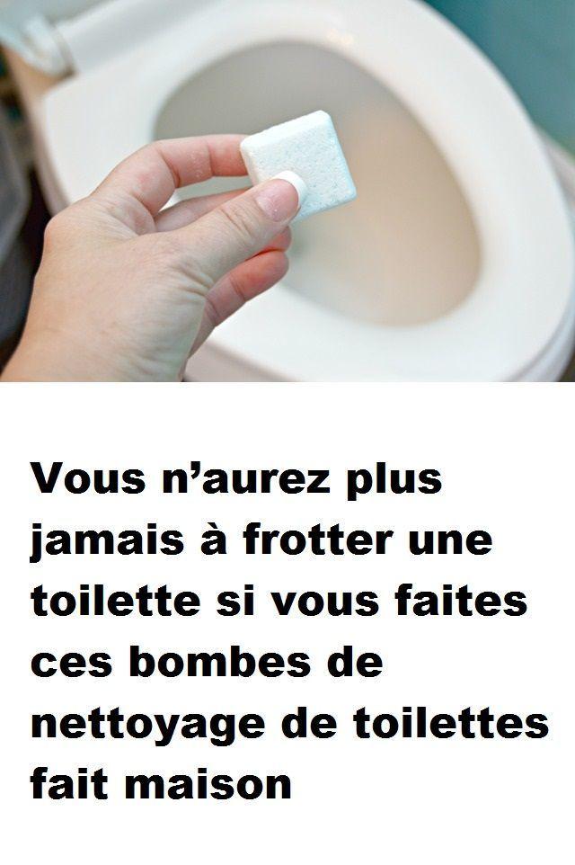 Vous n'aurez plus jamais à frotter une toilette si vous faites ces bombes de …