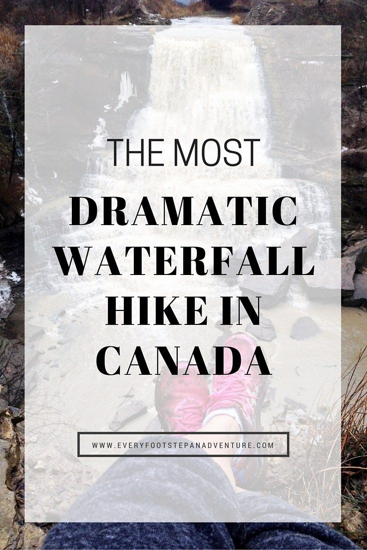 The Most Dramatic Waterfall Hike in Canada