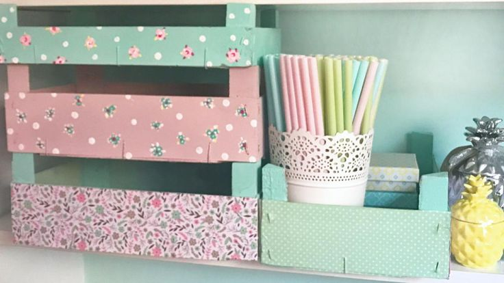 Haz de tus cajas de fresas pequeñas obras de arte