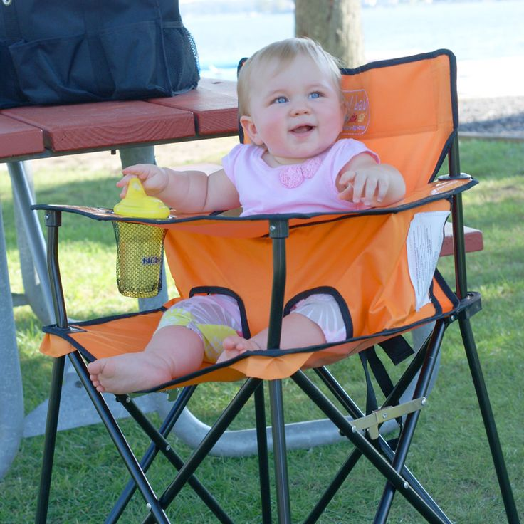 Portable High Chair: Baby Going Anywhere Highchair, Chairs Orange, Baby Idea, Baby Going Anywh Highchair, Portable Highchair, Baby Going Anywher Highchair, Baby Goanywherehighchair, Portable High Chairs, Folding Chairs