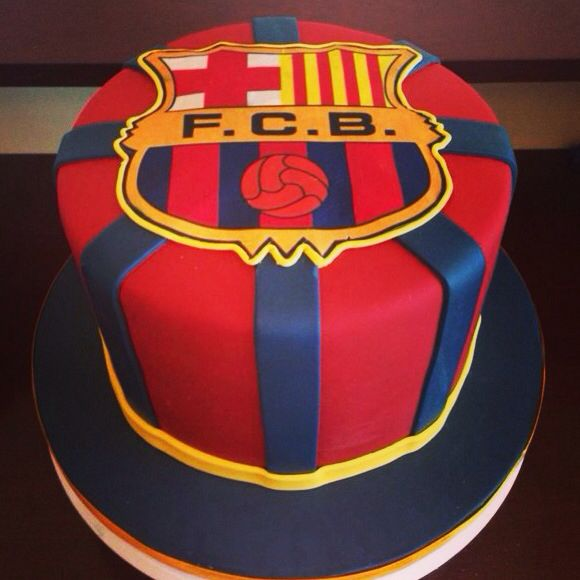 Barcelona cake-boyfriend would love