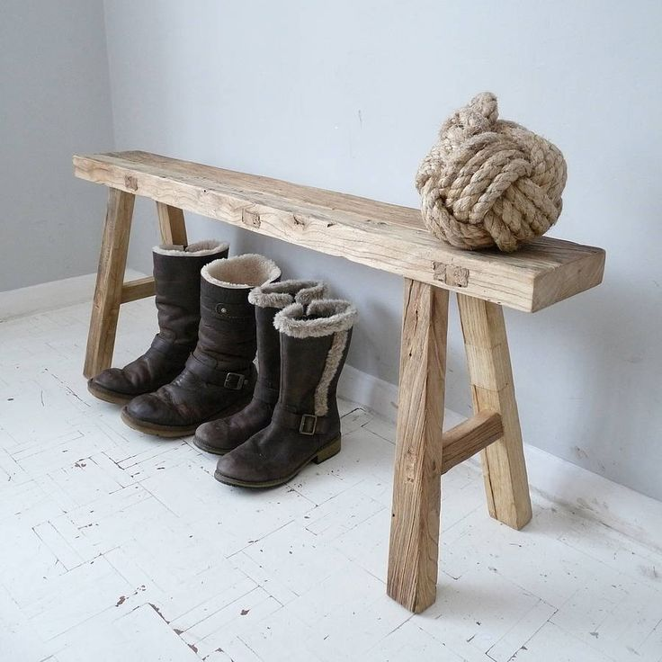 Reclaimed Oak Bench by Cooper Rowe Vintage Living www.notonthehighstreet.com