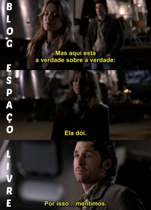 Grey's Anatomy Blog Espaço Livre