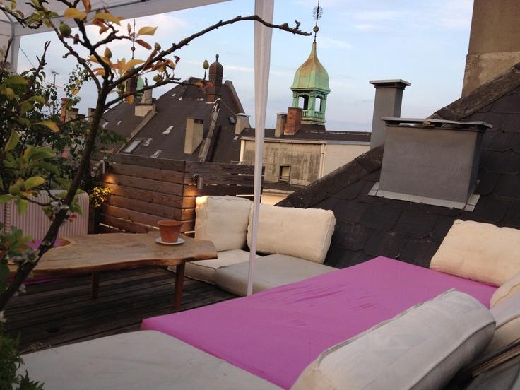 The Tropical Sun Terrace | Carstens Guest House COPENHAGEN | www.carstensguesthouse.dk