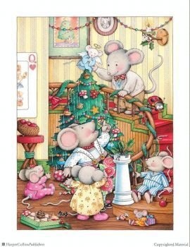 Mousey Christmas (108 pieces)